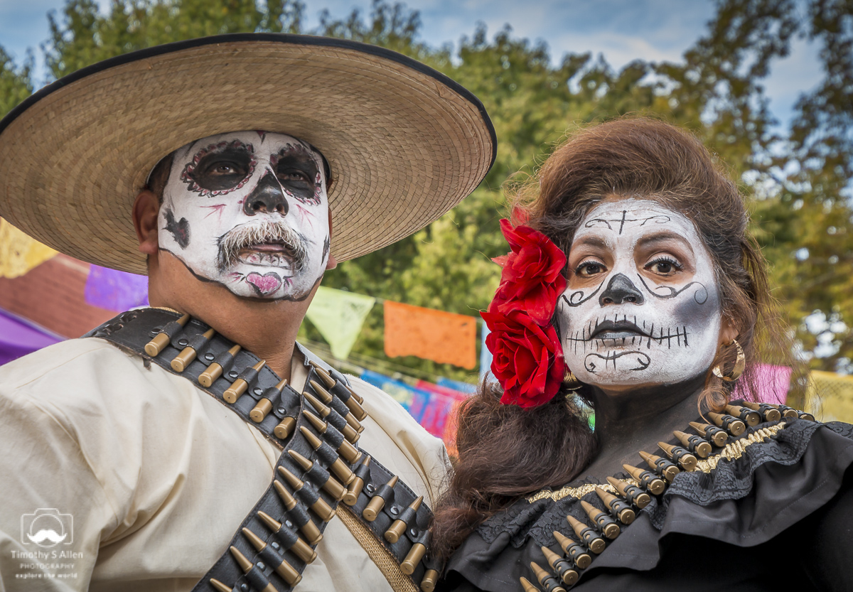 Day of the Dead Celebration El Panteon de Sacramento Sacramento, CA, U.S.A. October 28, 2018