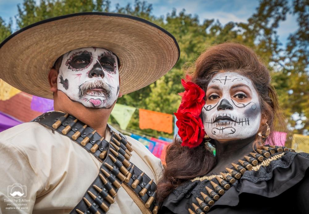Day of the Dead Celebration El Panteon de Sacramento Sacramento, CA, U.S.A. October 28, 2018