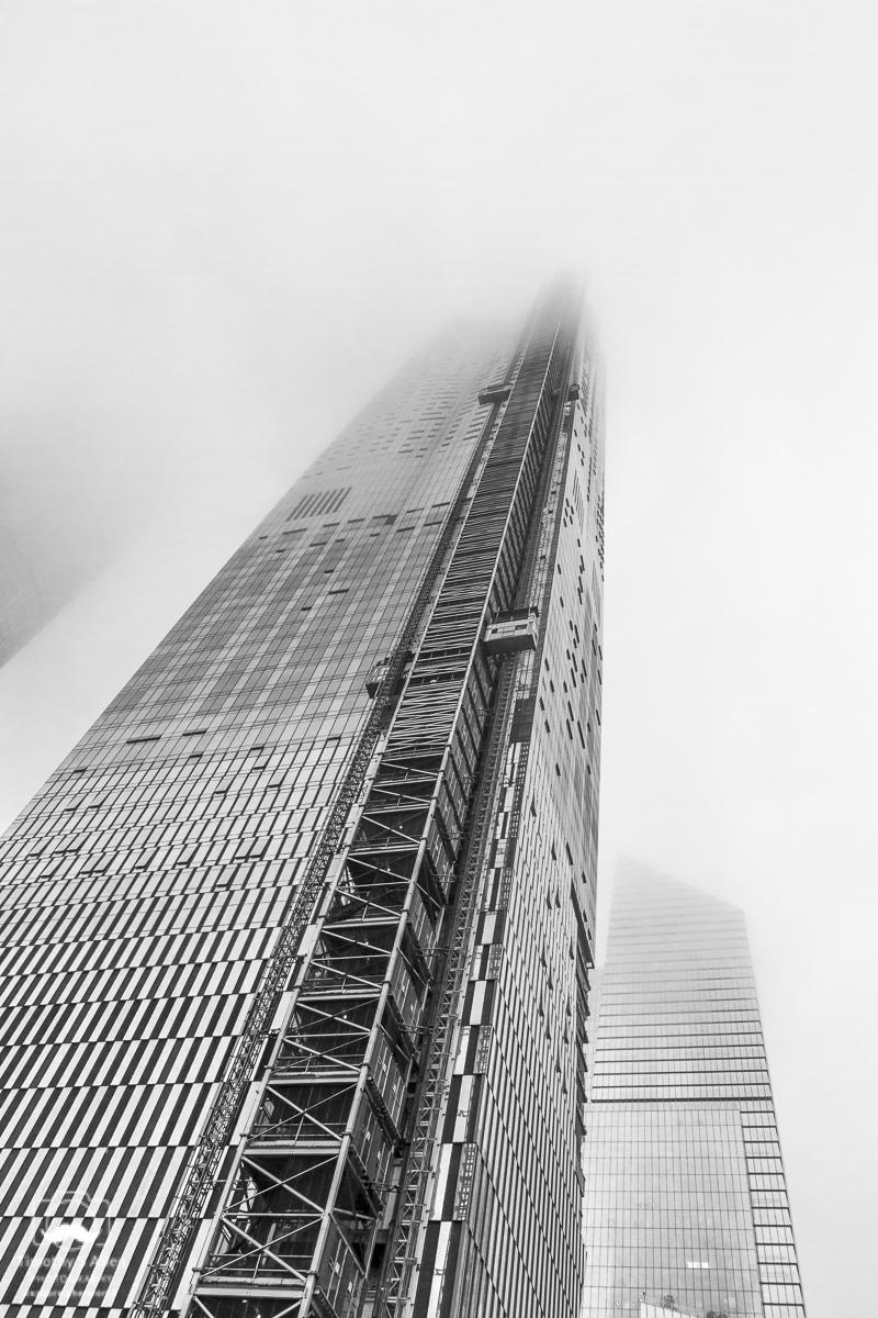 Construction in the Hudson Yards area of Manhattan, New York City, NY September 11, 2018