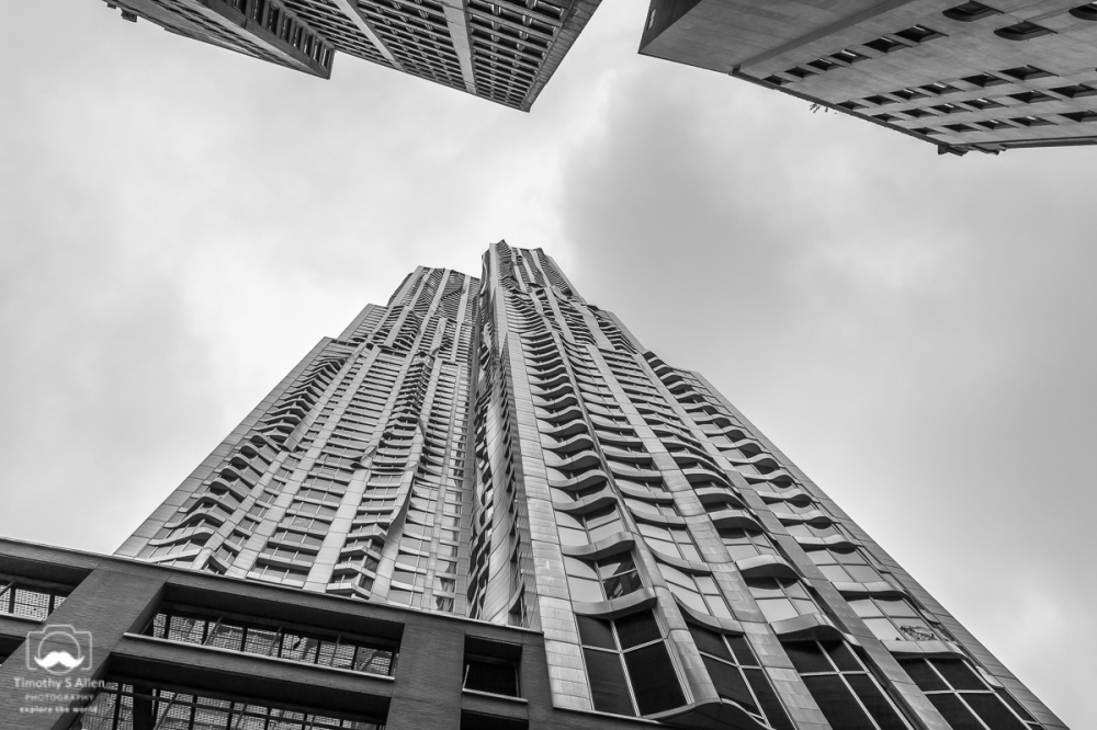 New York by Frank Gehry, 8 Spruce St., New York City, NY. September 13, 2018