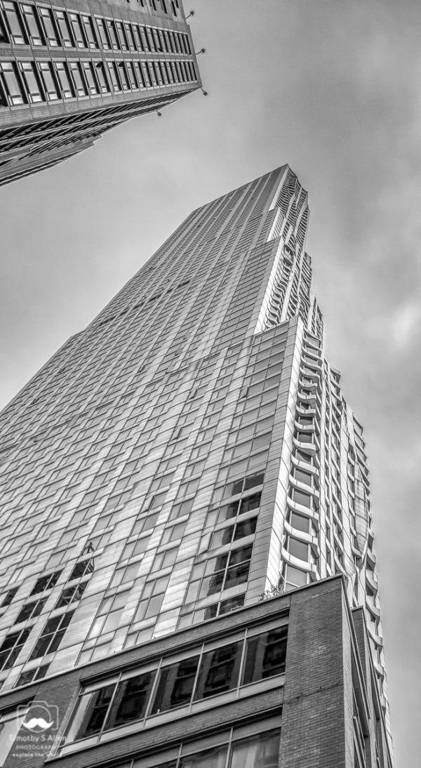 New York by Frank Gehry, 8 Spruce St., New York City, NY. September 13, 2018