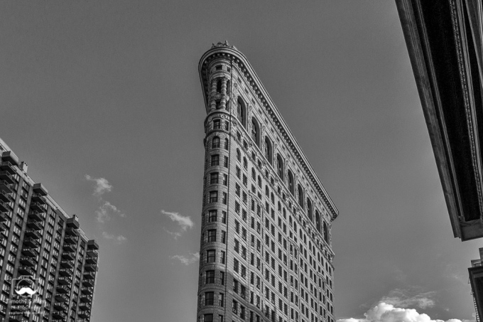 Flatiron Building A View from 5th Ave. Manhattan, New York City, NY August 14, 2014