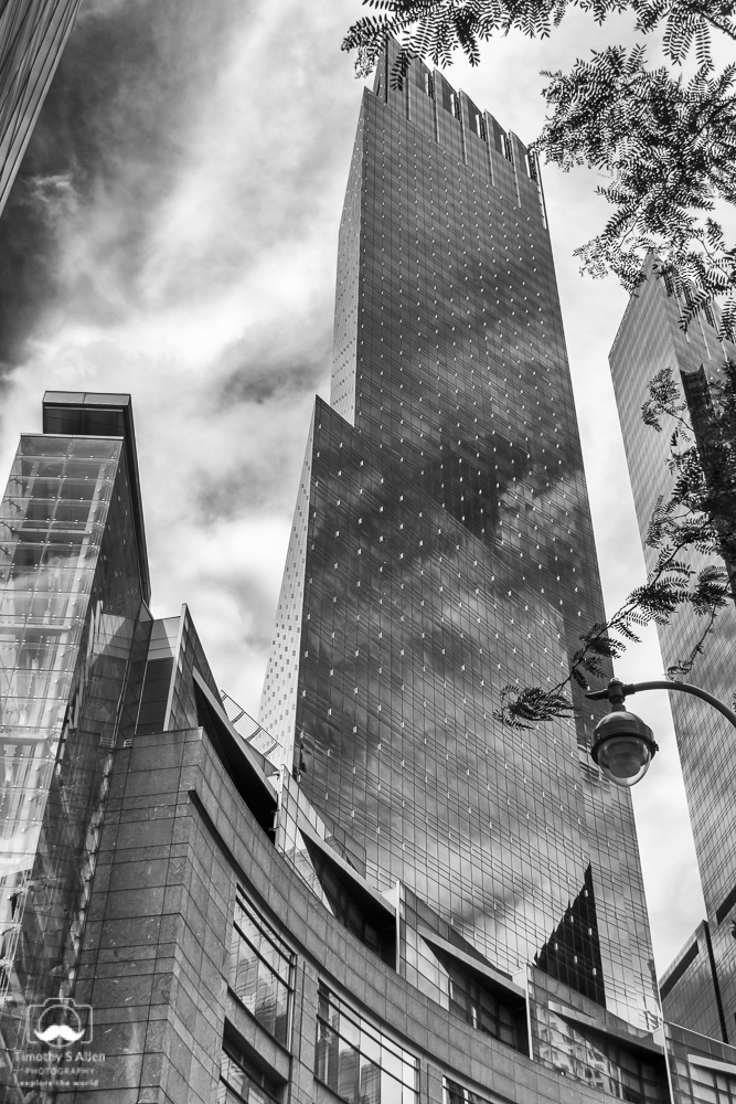 - Time Warner Building on Columbus Circle, New York City, NY., August 15, 2014.