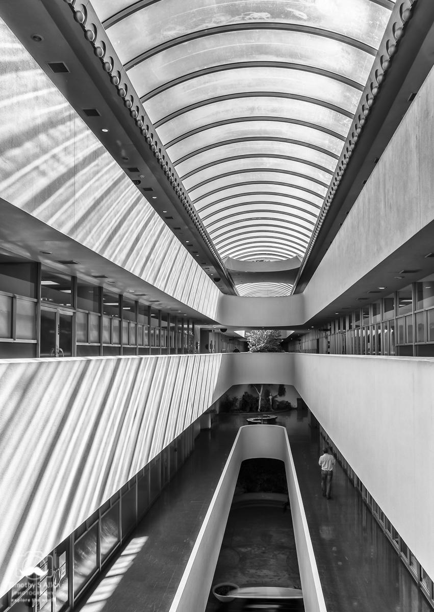 Frank Lloyd Wright, Architect Marin Civic Center San Rafael, CA, U.S.A. October 20, 2016