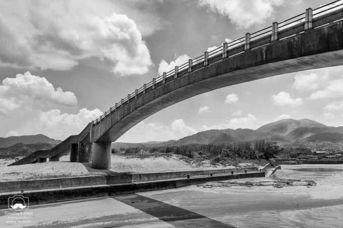 Pedestrian Bridge Off of Northern Hwy 2, Taiwan May 29, 2016