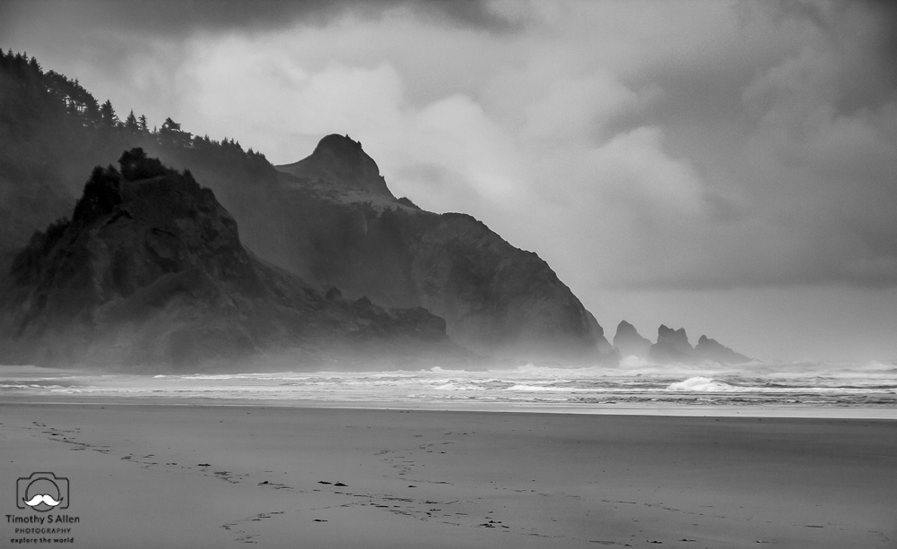 Neskowin Beach, Oregon, U.S.A. November 14, 2013