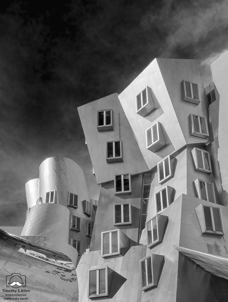 Frank Gehry Architect, MIT Cambridge, MA, U.S.A. September 17, 2018.