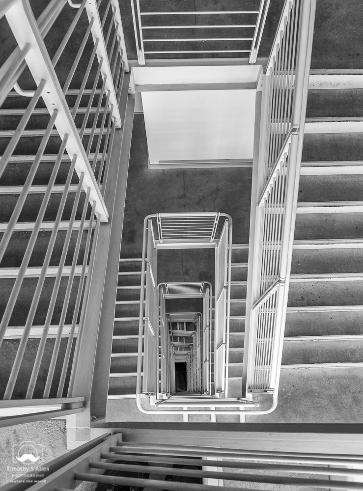 Back Stairs Whitney Museum of American Art New York, City, NY September 4, 2015