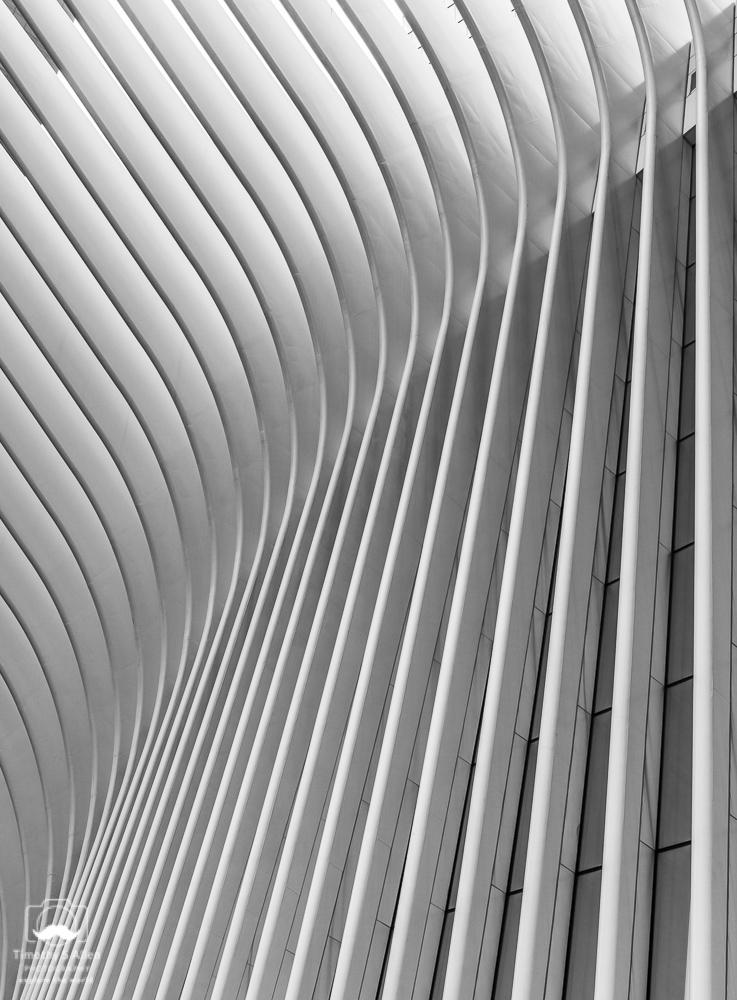 Exterior of the Oculus, World Trade Center, New York City, NY., U.S.A. September 11, 2018