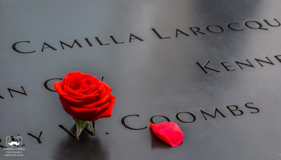 17th Anniversary of 9-11, September 11 Memorial World Trade Center, Manhattan, New York City, NY. September 13, 2018