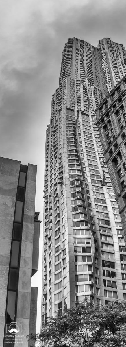 Frank Gehry Architect 8 Spruce Steet Manhattan, NYC, NY