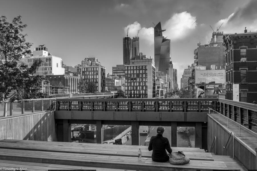 A View Up 10th Avenue. Manhattan, New York City, NY September 14, 2018