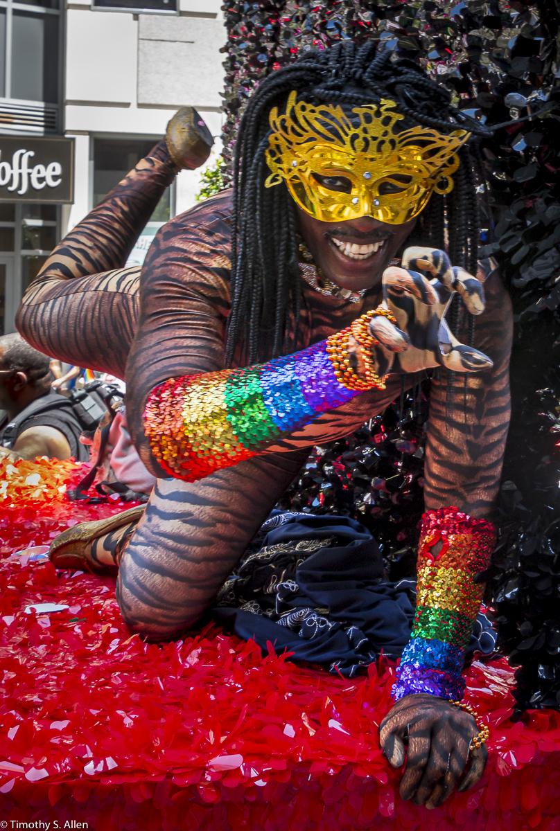 - San Francisco Pride Parade, June 29, 2019.