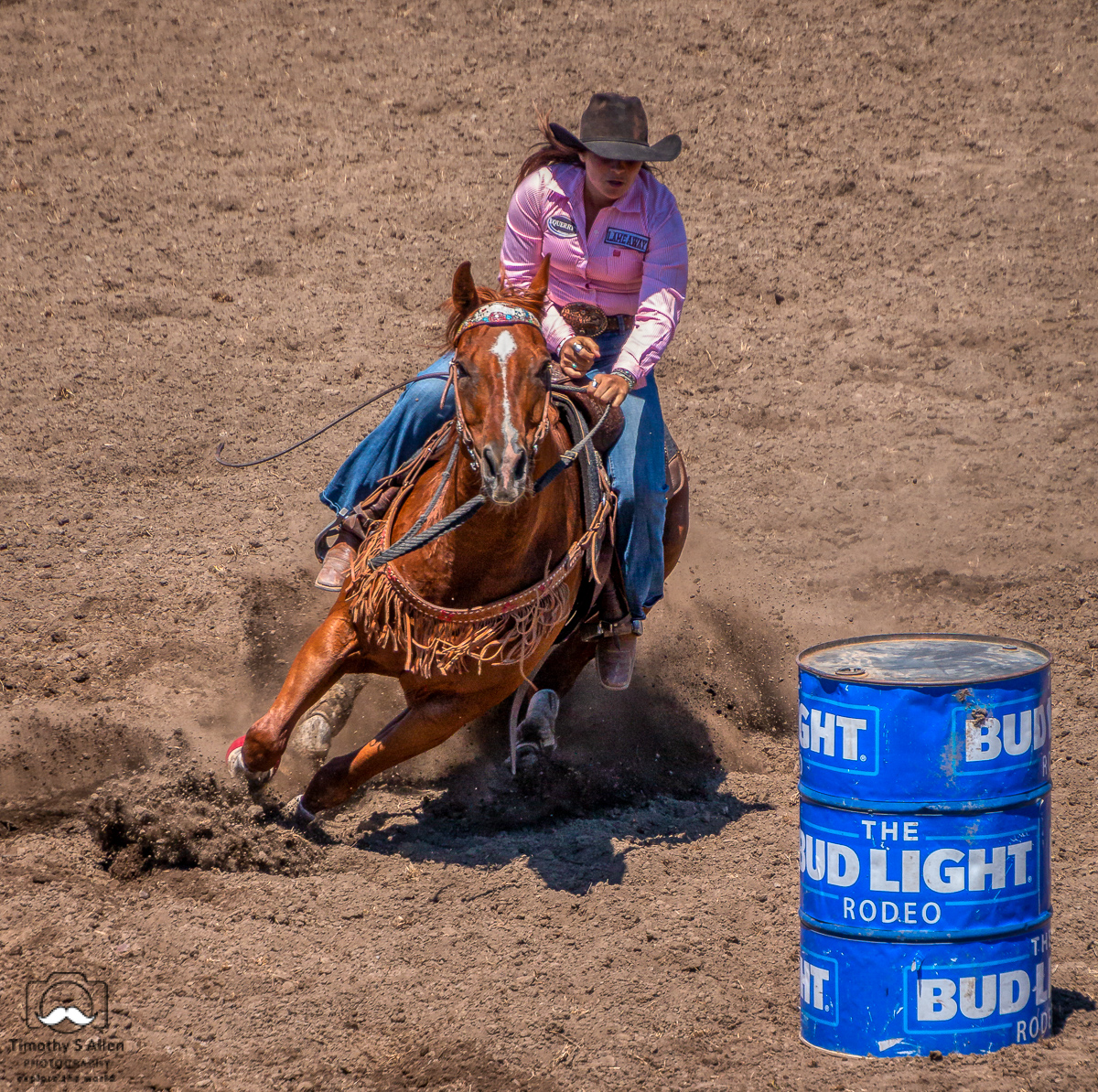 - Barrel Racing, Russian River Rodeo, Duncans Mills, CA. June 22, 2019.