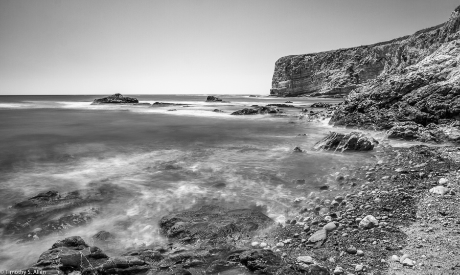 – 15 Sec. Exposure with a ND-10 and Polarizing Filters, CA-1, Mendocino County, California. July 24, 2019.