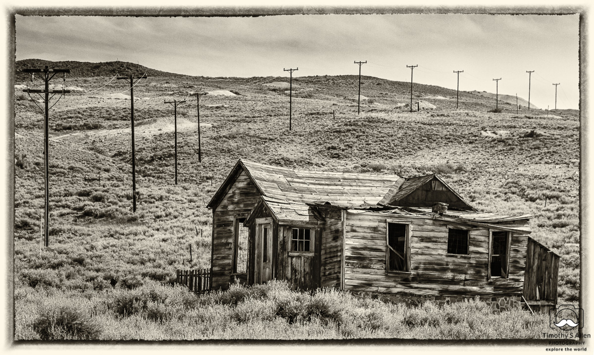 old house Bodie