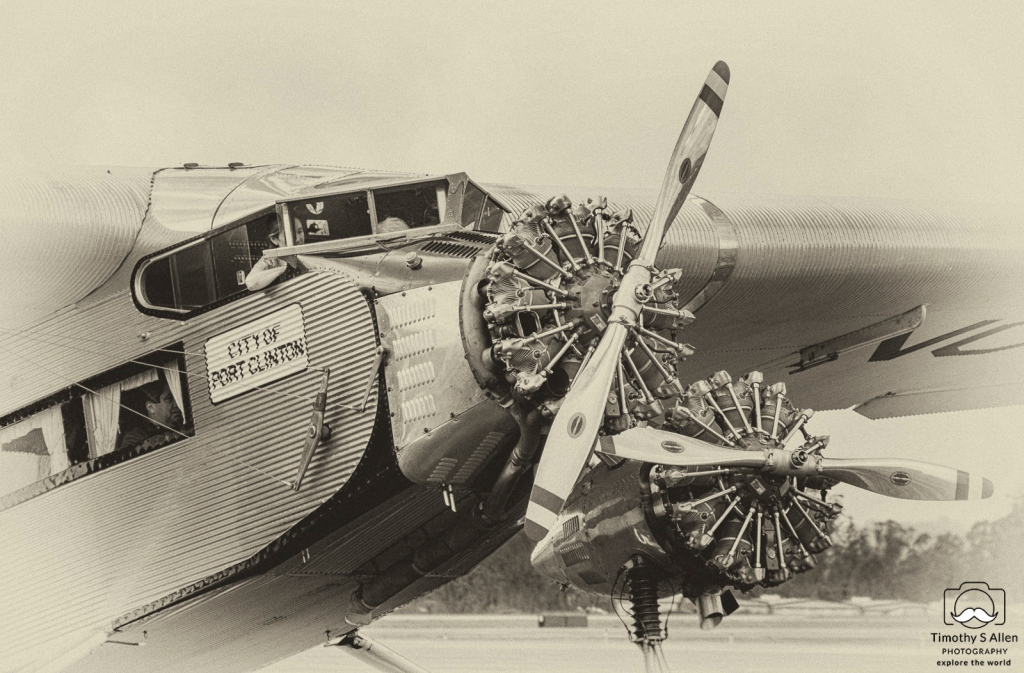 City of Port Clinton Ford Tri-Motor aircraft